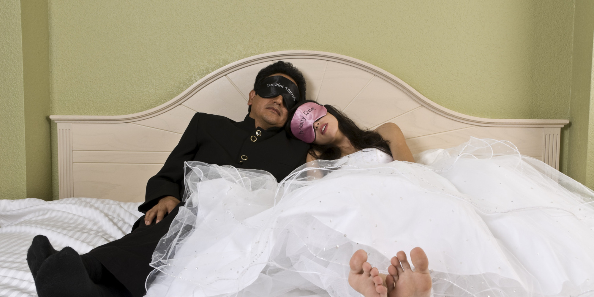 We Didn T Have On Our Wedding Night Huffpost
