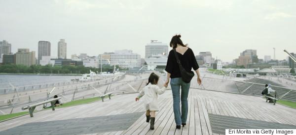 mother child japan