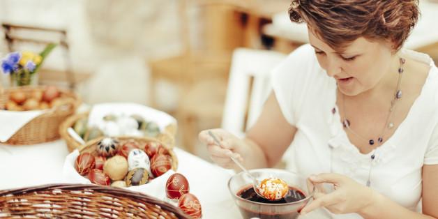 Eier bemalen - das gehört zu Ostern dazu