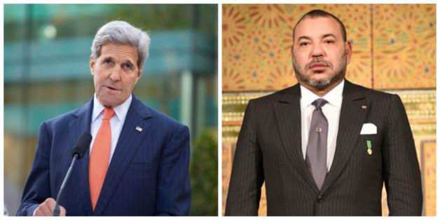 """Sahara: John Kerry assure à Mohammed VI que la position américaine """"n'a pas changé"""""""