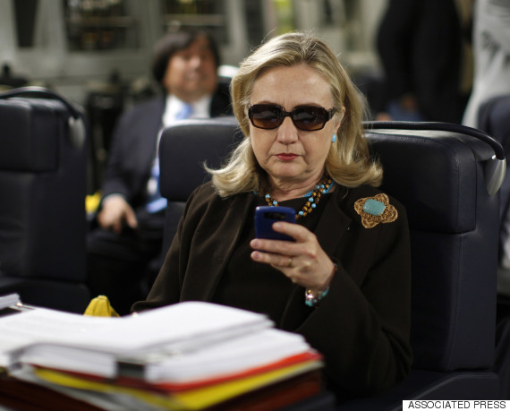 blackberry hilary clinton