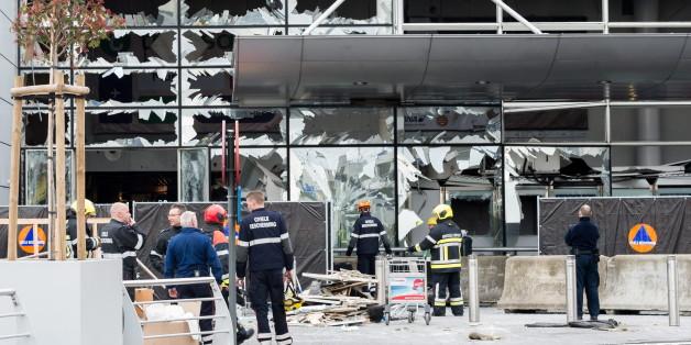 Der Flughafen Brüssel nach den Anschlägen