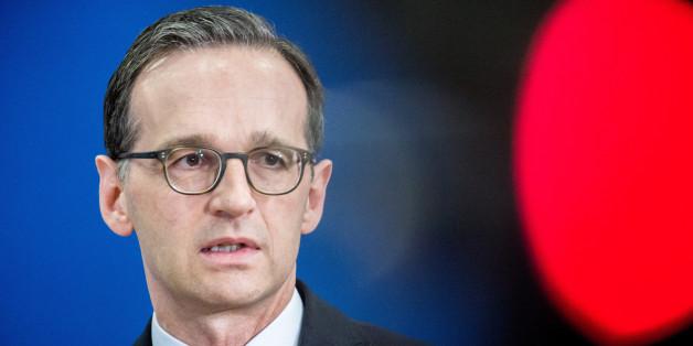 """Bundesjustizminister Heiko Maas: """"Die meisten Männer, die in den vergangenen Monaten diese grauenhaften Anschläge verübt haben, sind bei uns in Europa zu einer terroristischen Bedrohung herangewachsen"""""""