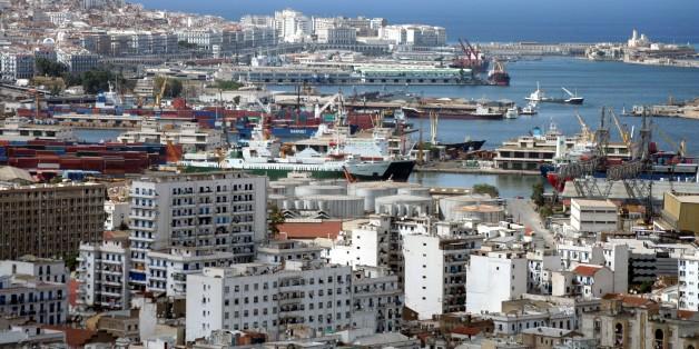 Alger, vue sur le port