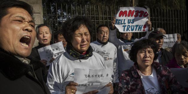 Die MH370-Angehörigen wollen nicht, dass die Suche eingestellt wird (Archiv)