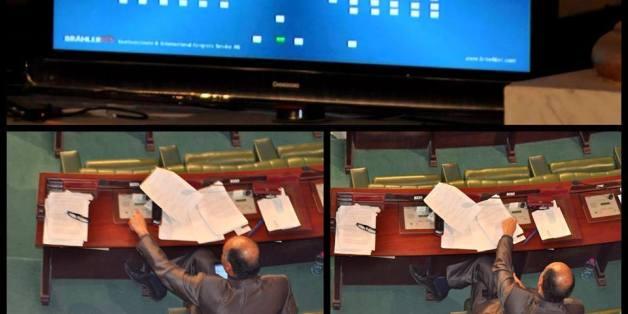 A l'image Noomene El Euch à l'Assemblée des Représentants du Peuple