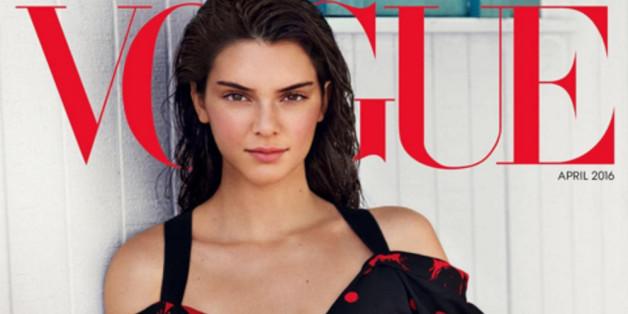 """Kendall Jenner auf dem Cover der """"Vogue"""""""
