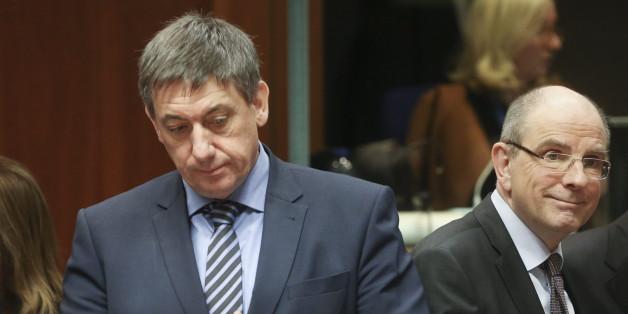Luxemburgs Innenminister Jan Jambon (l.) und Justizminister Koen Geens (r.) boten ihren Rücktritt an