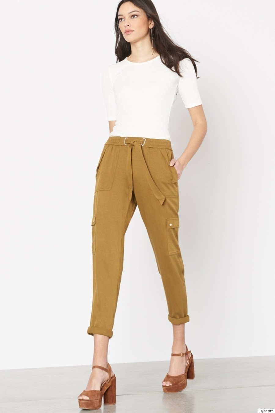 cropped spring pants