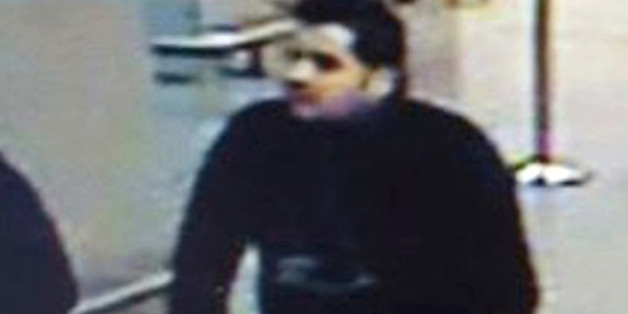 FILE - In this combination of two undated photos, TOP showing Ibrahim El Bakraoui before attacks at Belgium's Zaventem Airport, and BELOW showing Khalid Bakraoui, both brothers who attacked Belgium's capital. Blood ties have long been a feature of criminal networks, and several recent terror attacks have been executed by a close-knit gang of friends and often brothers. The Tsarnaev brothers wreaked carnage in Boston, the Kouachi brothers attacked Charlie Hebdo magazine in Paris, and in Brussels, officials say the El Bakraoui brothers struck the airport and metro this week, killing more than 30 people. (top photo Belgian Federal Police, botton Interpol via AP, FILE)
