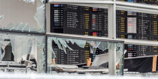Eine Schwangere hat den Anschlag am Brüsseler Flughafen überlebt - und schreibt ihrem Baby einen Brief