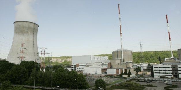 Ein belgisches Atomkraftwerk, bei dem es sich nicht um die betroffene Anlage in Charleroi handelt.