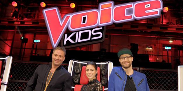 """Die """"The Voice Kids""""-Coaches Sasha, Lena Meyer-Landrut und Mark Foster (v.l.) waren von Lukas überzeugt"""