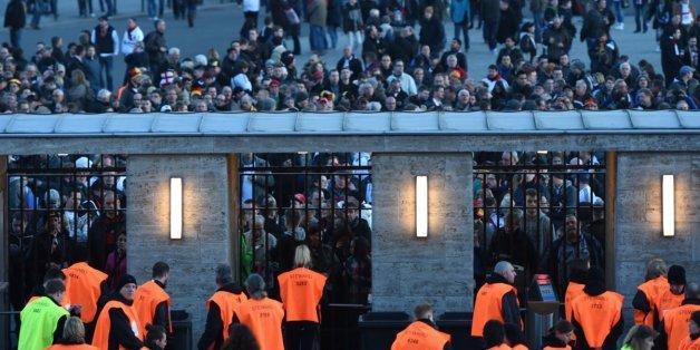 Spiel in der Festung: Polizei sichert Partie Deutschland-England mit 1500 Beamten