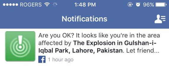 facebook safety check pakistan