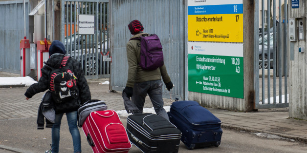 Flüchtlinge in München (Symbolbild).