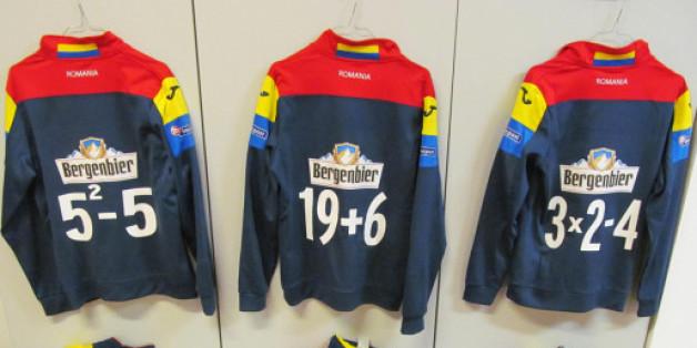 Les maillots d'entrainement de l'équipe de football de Roumanie lors de son match contre l'Espagne le 27 mars (Capture Twitter)