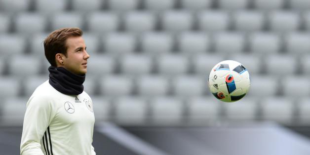 Deutschland - Italien: Mario Götze gilt als gesetzt.
