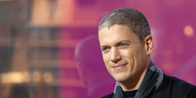 NEW YORK, NY - JANUARY 21:  Wentworth Miller visits 'Extra' at their New York studios at H&M in Times Square on January 21, 2016 in New York City.  (Photo by D Dipasupil/Getty Images for Extra)