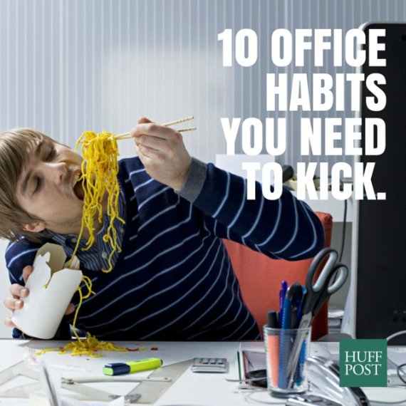 bad office habits