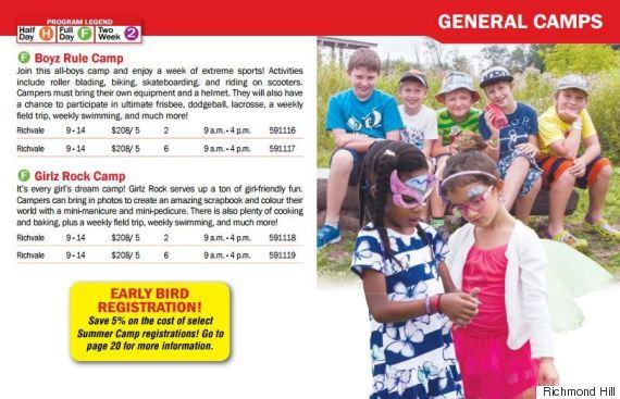 richmond hill summer camp