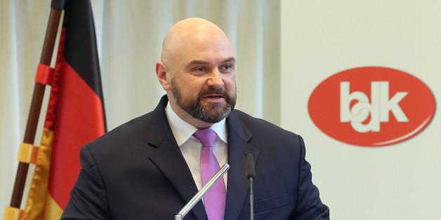 Der Vorsitzende des BDK, Andre Schulz