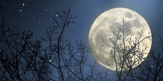 Der Mond wirkt faszinierend - und hat auch eine große Wirkung auf die Erde