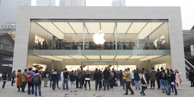 Apple - eine Marke begeistert die Welt. So auch in China.