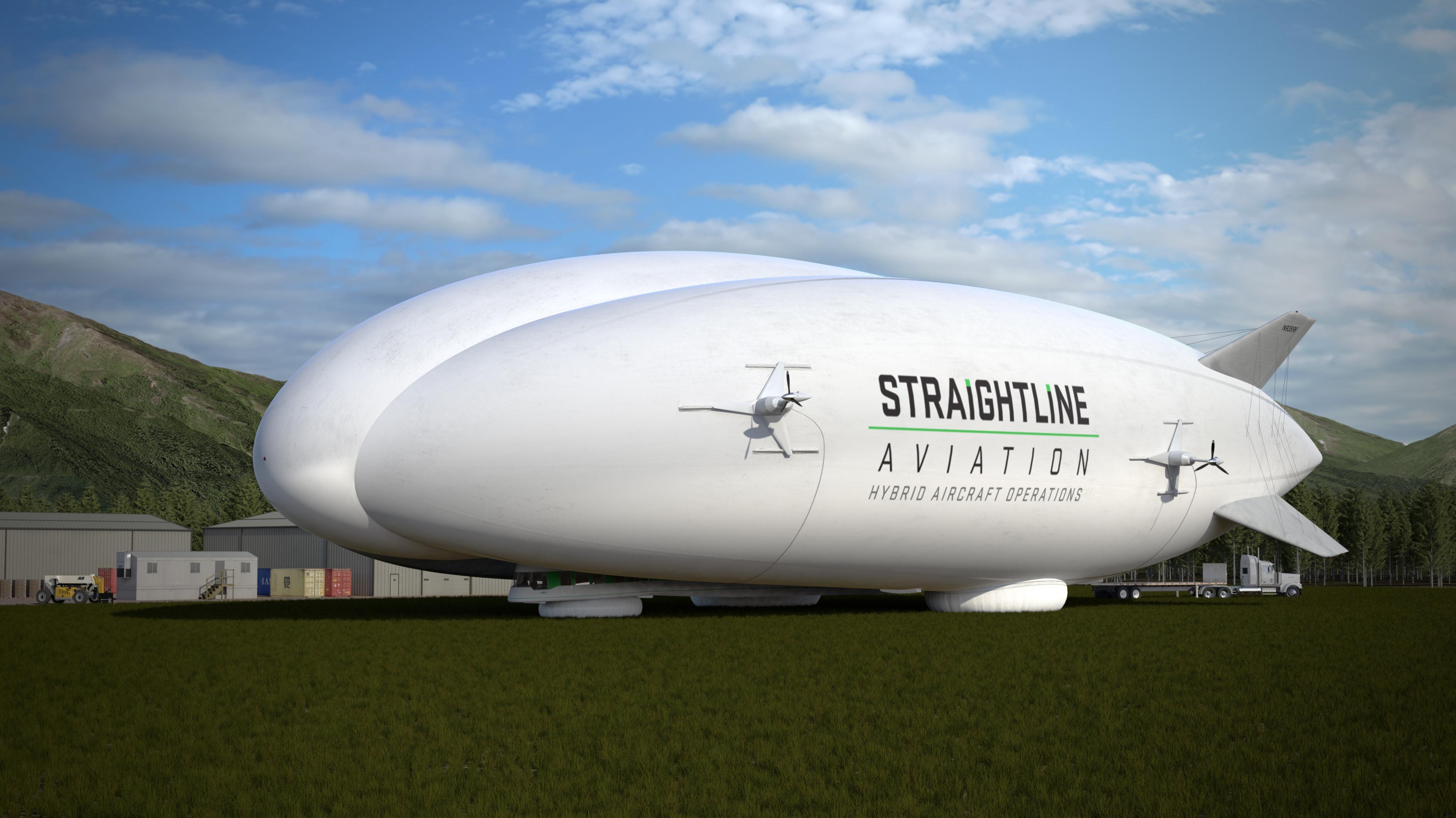 hybrid airship