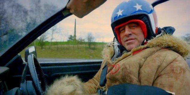 """L'acteur Matt LeBlanc au volant d'une voiture dans la nouvelle saison de """"Top Gear"""""""