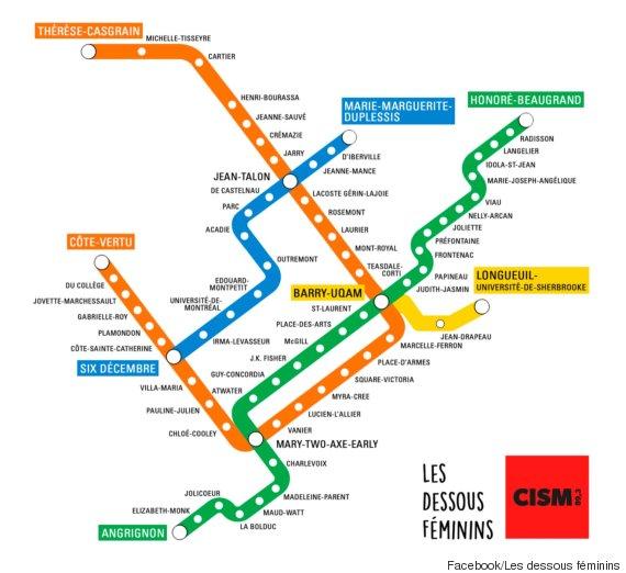 Elles ont réinventé le plan du métro de Montréal pour faire plus