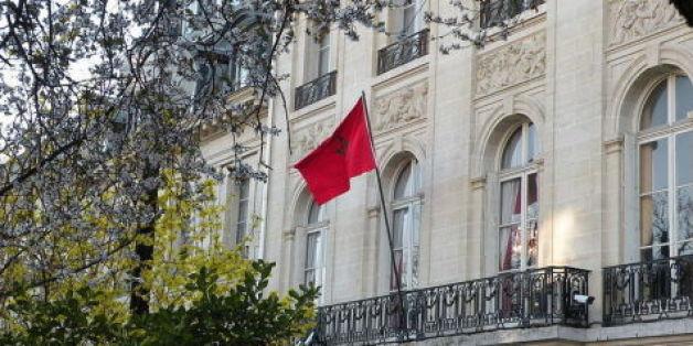 """La France condamne """"vigoureusement"""" l'acte perpétré sur la résidence de l'ambassadeur du Maroc à Paris."""