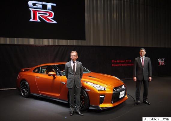 日産、「NISSAN GT-R」 2017年モデルを日本初披露!