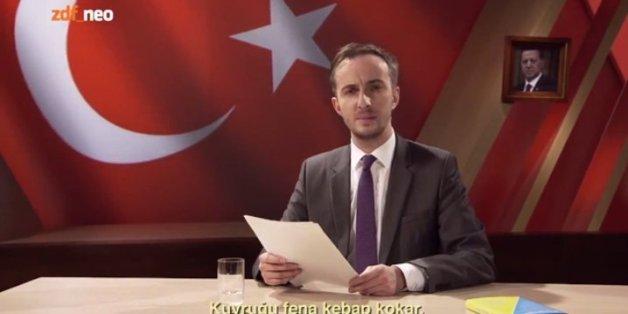 """Im """"Neo Magazin Royale"""" las Jan Böhmermann eine """"Schmähkritik"""" über Erdogan vor. Nun wird gegen ihn und ZDF-Verantwortliche wohl ermittelt"""