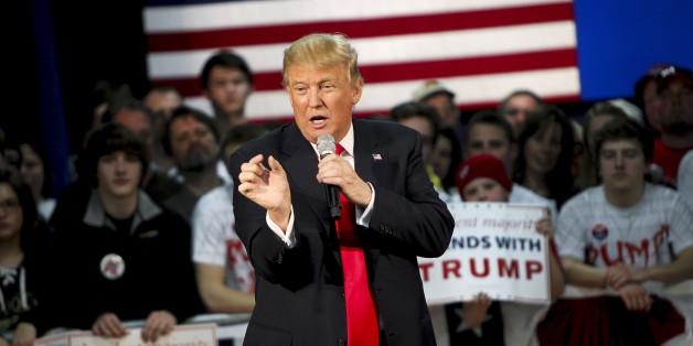 Donald Trump bei einem Auftritt im US-Bundesstaat Wisconsin