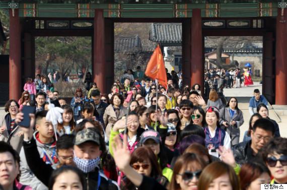 chinese korea tour