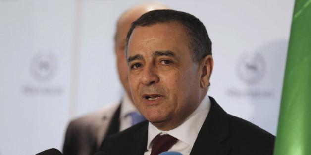 Algeria's Industry Minister Abdeslam Bouchouareb addresses a news conference in Oran, west of Algiers November 10, 2014. REUTERS/Louafi Larbi  (ALGERIA - Tags: POLITICS BUSINESS)