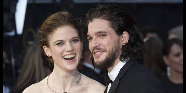 Kit Harington und Rose Leslie bei den Olivier Awards in London