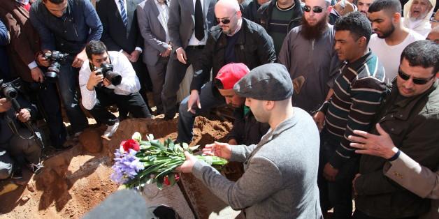 Les funérailles de Loubna Lafquiri, victime des attentats de Bruxelles