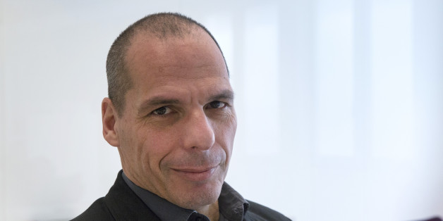 Yanis Varoufakis, former Greek finance minister, poses for a photograph following a Bloomberg Television interview in Athens, Greece, on Wednesday, March 16, 2016. The U.K. 'cant really leave' the European Union and the country wants to remain part of the EU single market even if it votes in favor of 'Brexit' in June, Varoufakis said. Photographer: Yorgos Karahalis/Bloomberg via Getty Images