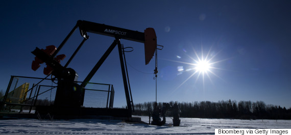 canada oil well