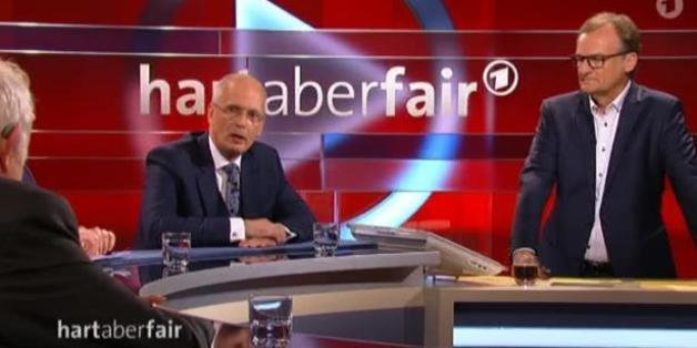 "Strafrechtler Thomas Bliwier erhob bei ""Hart aber fair"" schwere Vorwürfe gegen den Verfassungschutz"