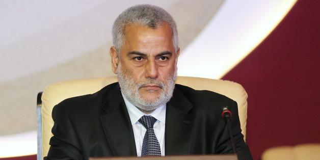 Abdelilah Benkirane à l'ouverture de la conférence internationale sur la question de Jerusalem le 26 février 2012 à Doha