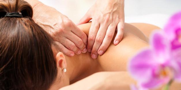 Eine Massage hilft Körper und Geist