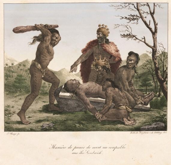 human sacrifice ritual