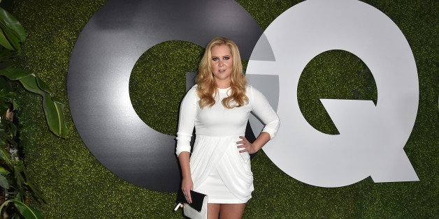 Amy Schumer arrives at the GQ Men of the Year Party at the Chateau Marmont on Thursday, Dec. 3, 2015, in Los Angeles. (Photo by Jordan Strauss/Invision/AP)