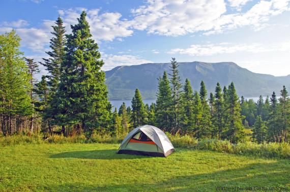 gros morne camping
