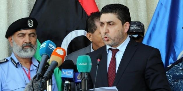 Le chef du gouvernement libyen non-reconnu basé à Tripoli, Khalifa Ghweil, le 8 juin 2015 à Tripoli