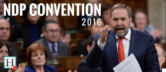 ndp convention banner