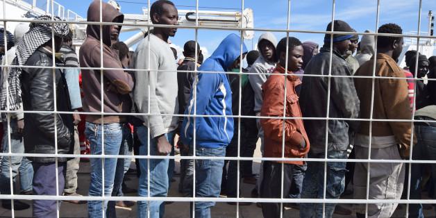 Durch Libyen gereiste Flüchtlinge